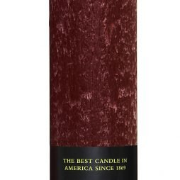 7 inch Timberline Collenette Garnet Candle – Pack of 4