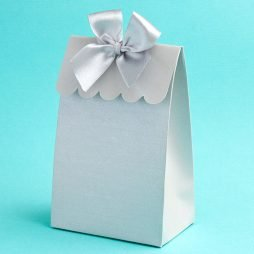 Silver Delivered With Love Boxes From The Perfectly Plain Collection