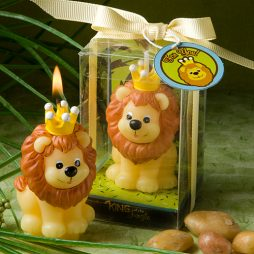 Adorable King of the Jungle Collection Candle