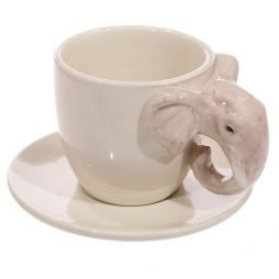Elephant Handle Coffee Cup