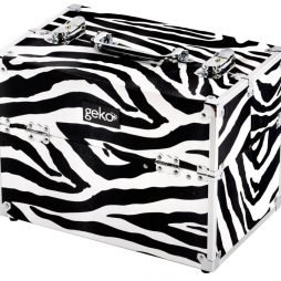 Vanity Case Zebra Design