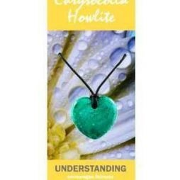 Chrysocolla Howlite Heart Necklace Natural Jewellery