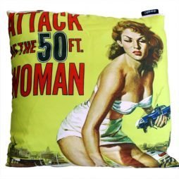 Cinema Gothic Cushion Cover – Attack of the 50ft Woman