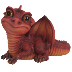 Red Baby Dragon Pet in Gift Box