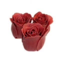 Bath Roses – 3 in Heart Box