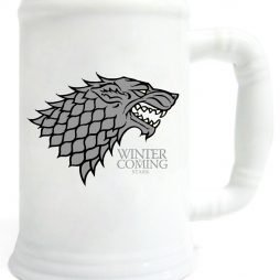 Game Of Thrones Ceramic Stein Winter Is Coming Stark