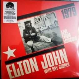 Elton John, Ray Cooper – Live From Moscow 1979 – Clear Vinyl RSD 2019 Rare
