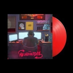 KSI – All Over the Place Limited Red Vinyl 12″ LP Album Record