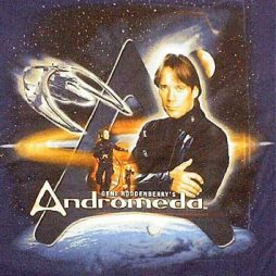 Andromeda TV Show Officially Licenced T-Shirt