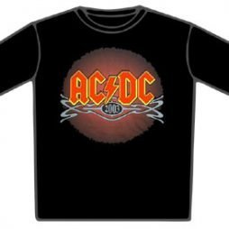 ACDC 2003 Logo T-Shirt OFFICIALLY Licenced